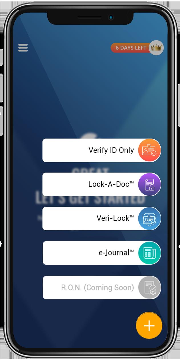 Verify ID Mobile View